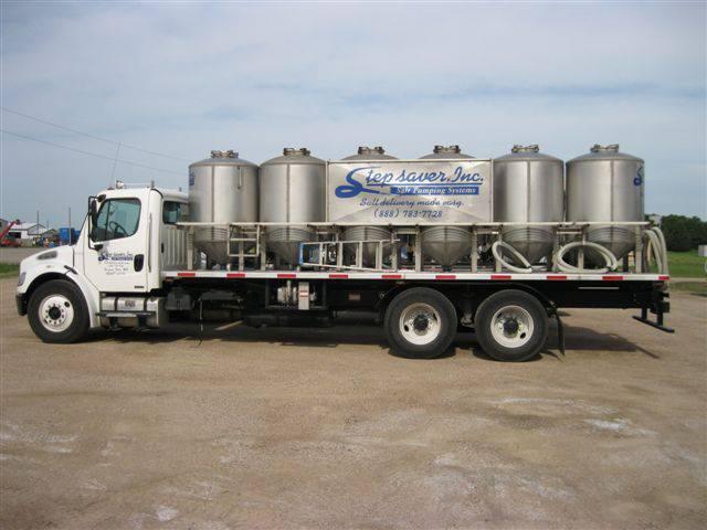 Salt Delivery Truck
